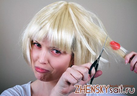 как снять жвачку с волос